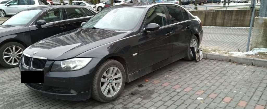 BMW próba kradzieży