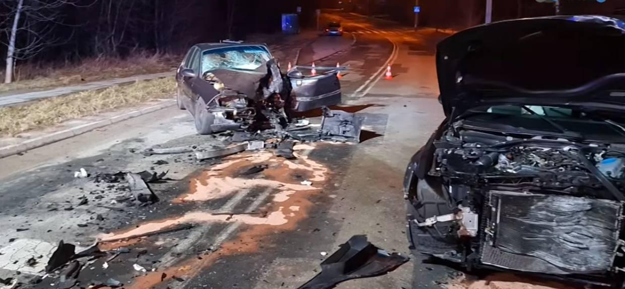 Wypadek pijany kierowca