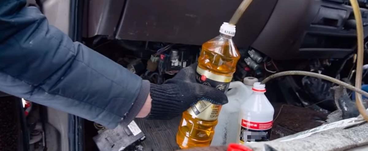 Diesel olej słonecznikowy