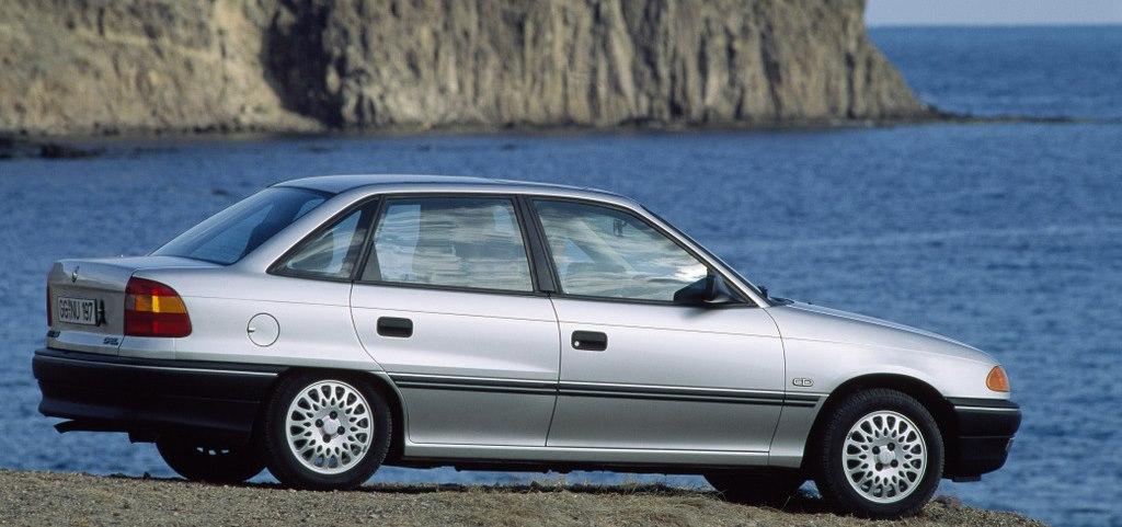 Złom Opel Astra F