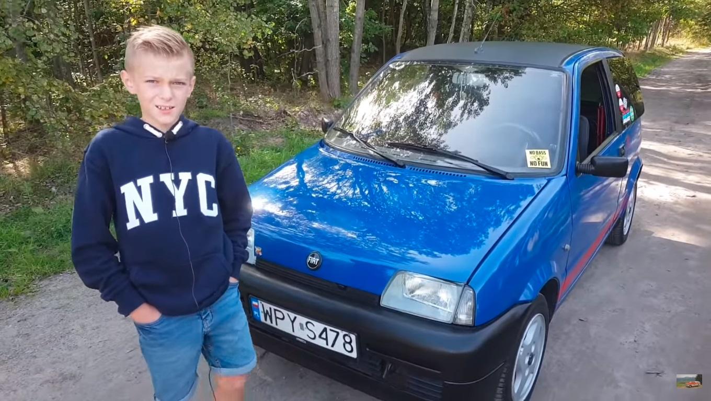 Fiat Cinquecento starszy od właściciela