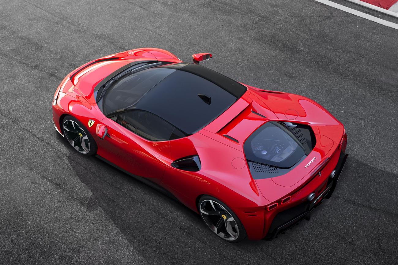 Ferrari SF90 Stradale. Materiały Prasowe