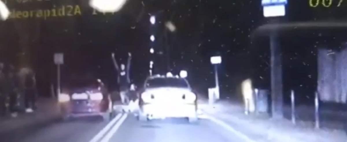Wyścigi uliczne policja BMW