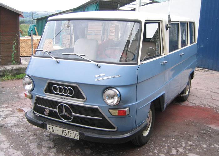 Mercedes czy Audi? DKW-IMOSA F1000