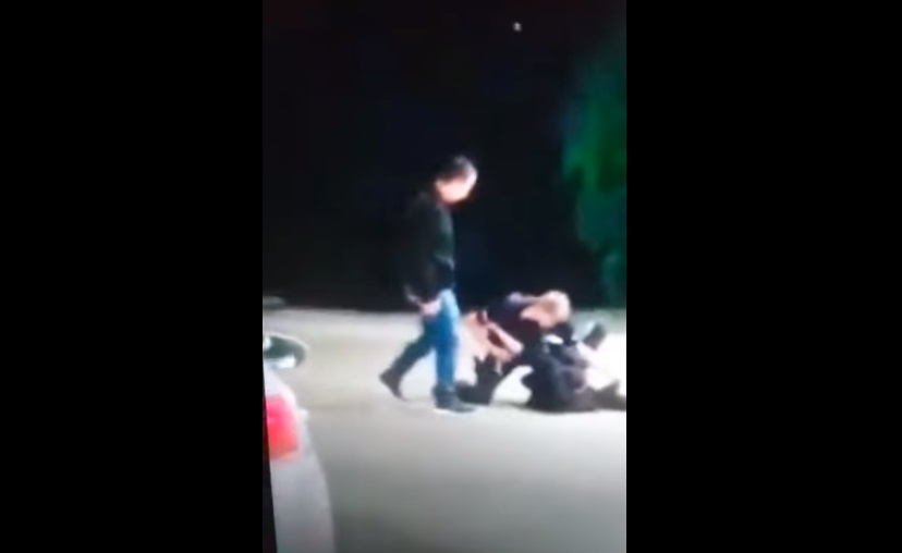 Szarpanina kobiety z policją. Nie chciała założyć maseczki