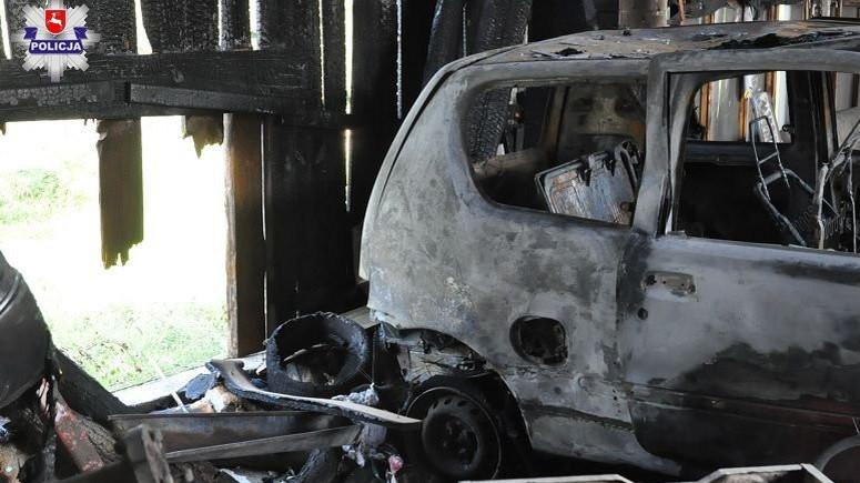 Wypadek spalone Seicento
