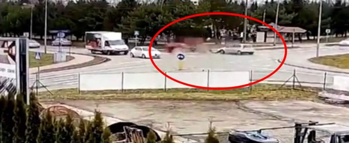 Kierowca wypadek w Seicento