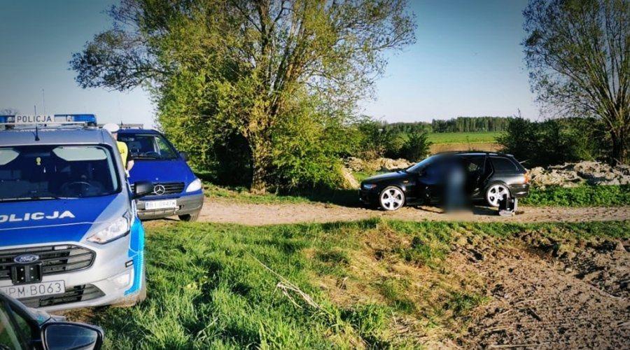 BMW ucieczka przed policją