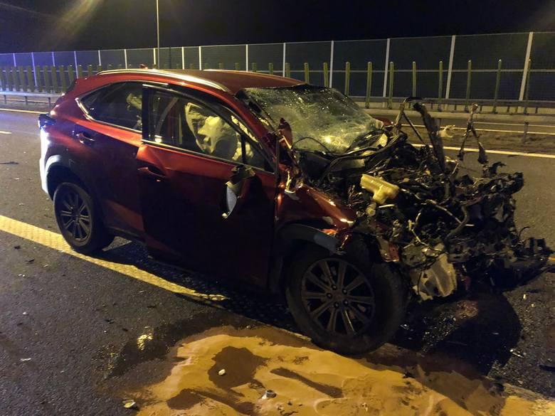 Wypadek Lexus