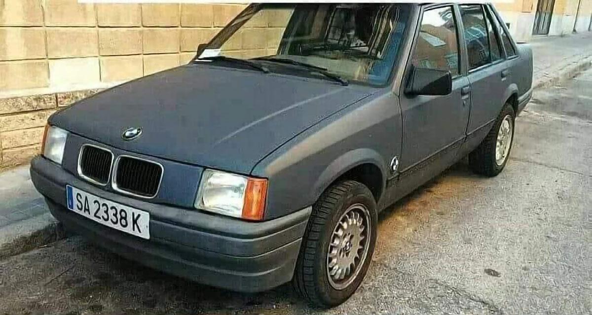 BMW z Opla Corsy
