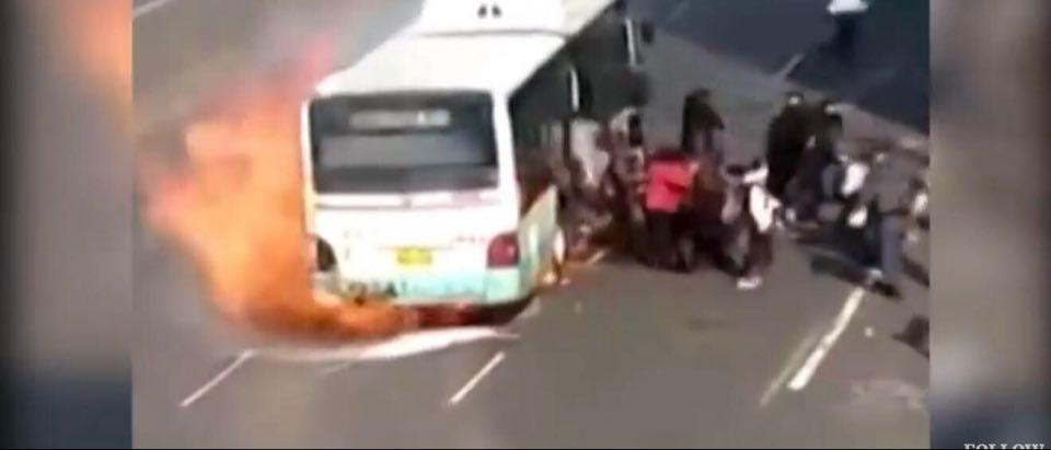Wybuch autobusu