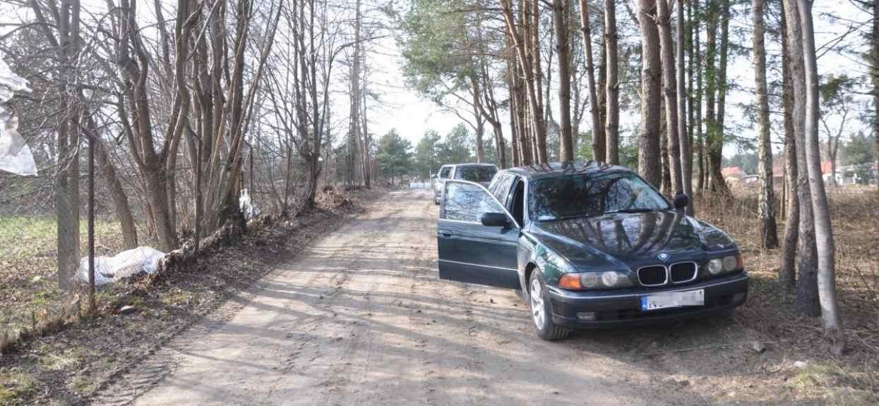 Kradzież samochodu stare BMW