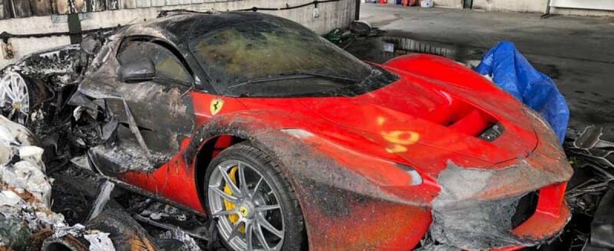 Kolekcja aut spłonęła - kilkadziesiąt milionów poszło z dymem