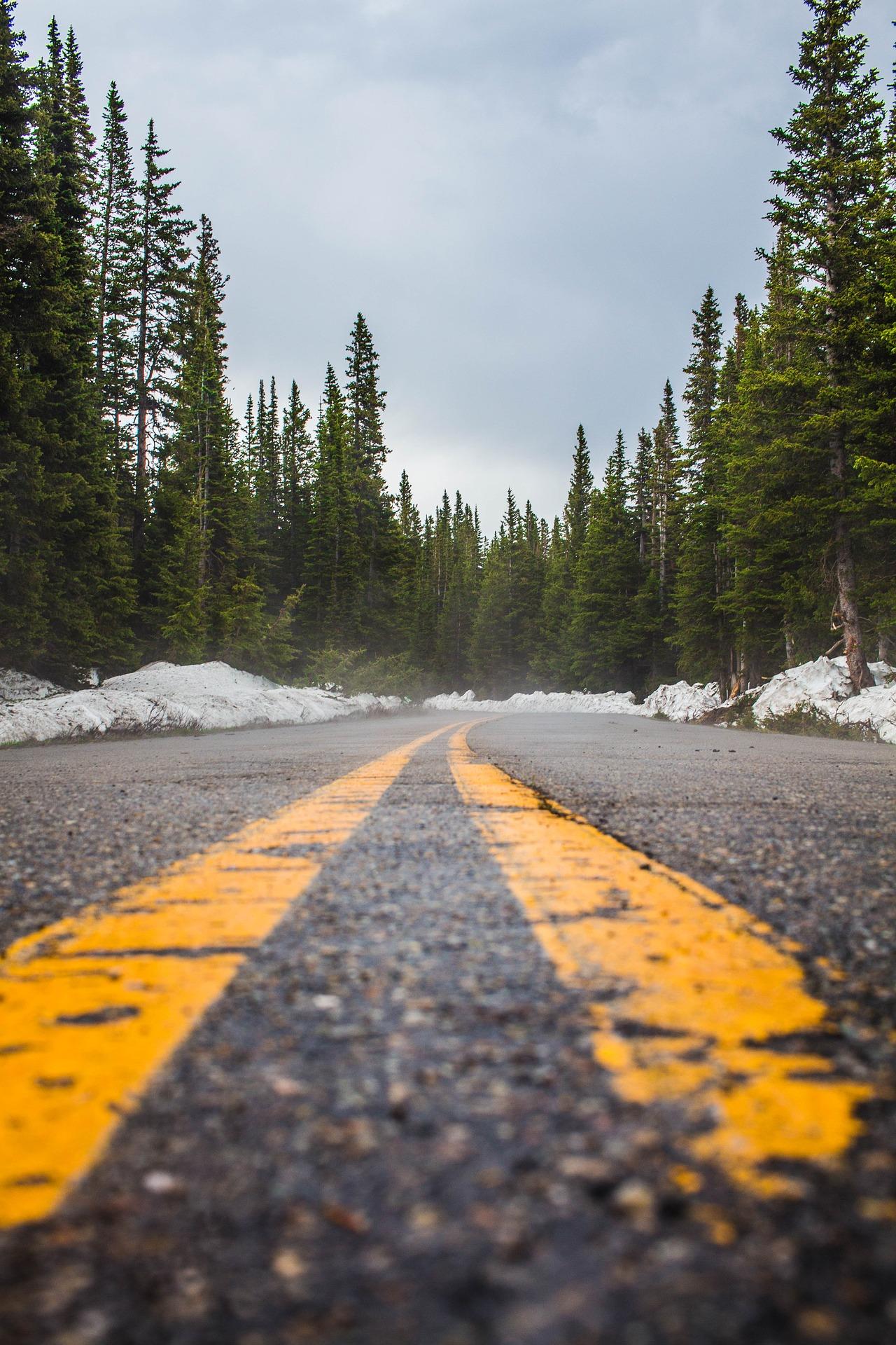 Co oznaczają żółte linie na skrzyżowaniu?