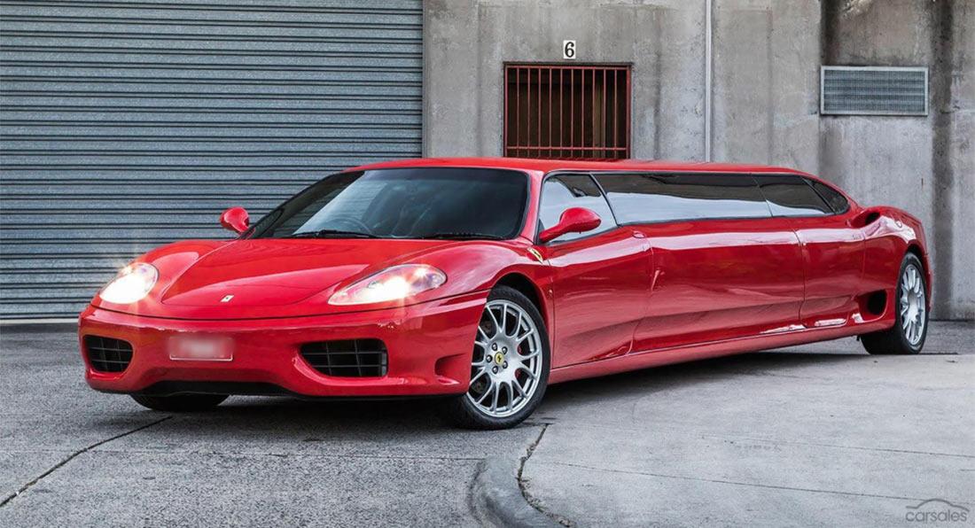 Ferrari 360 Limuzyn