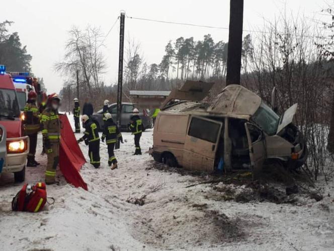 Wypadek KWP Olsztyn