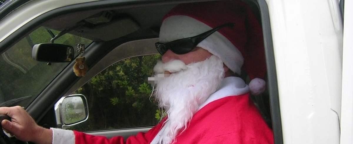 Kierowca święty mikołaj wielkanoc [ZDJĘCIE POGLĄDOWE]