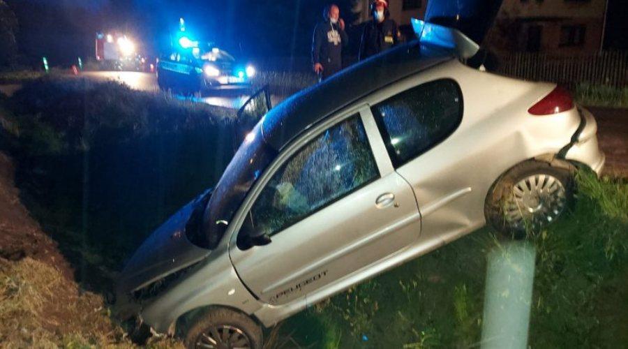 Pijany kierowca wypadek