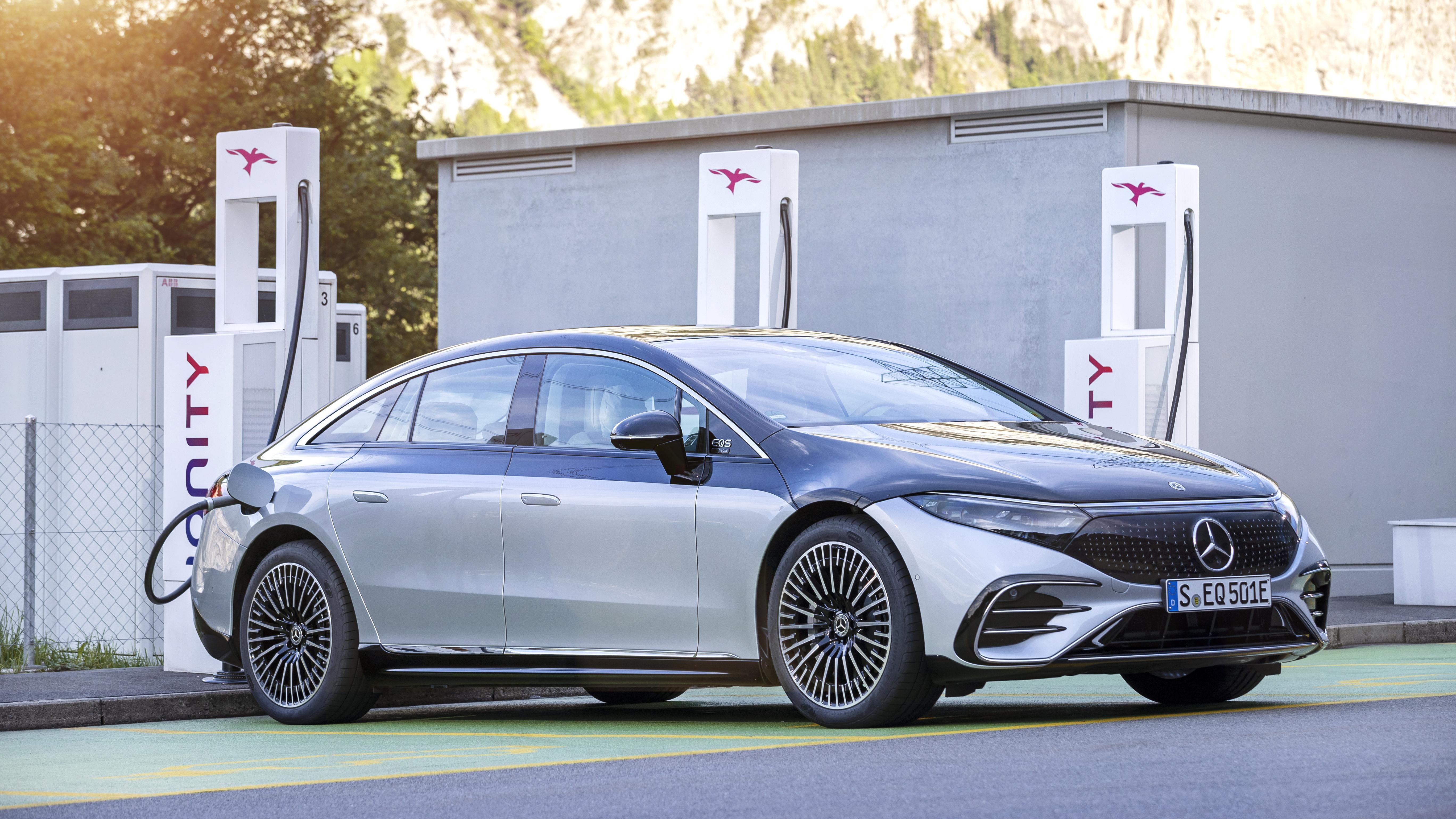 Mercedes EQS. Daimler planuje pełną elektryfikację do 2030 r.