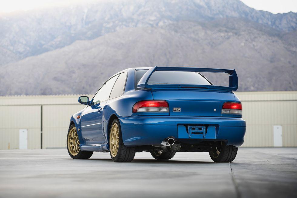 Subaru Impreza STi 22B tył