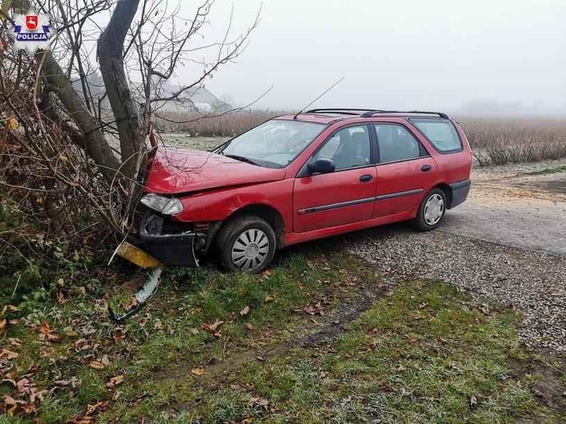 Nastolatek rozbił auto rodziców