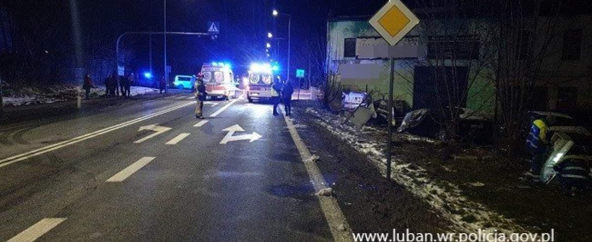 Wypadek w Olszynie. Nie żyje 40-latek