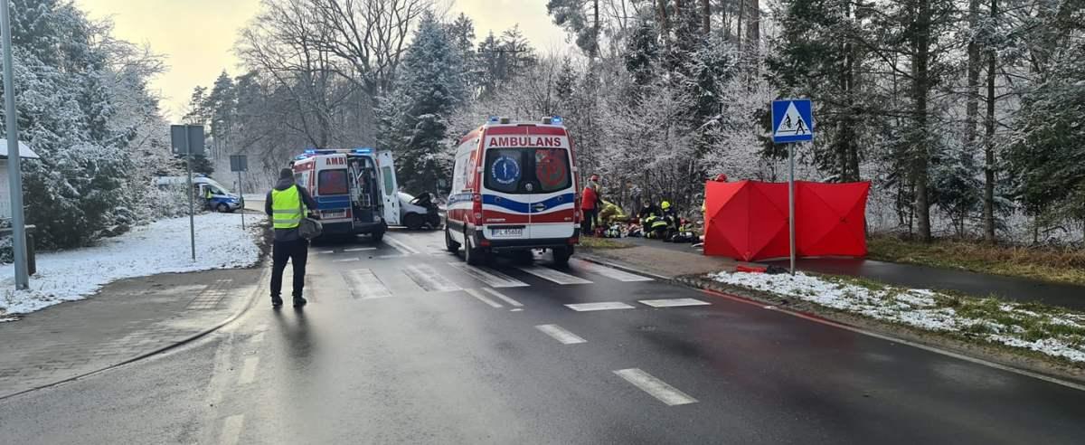Kierowca pod wpływem narkotyków zabił 11-miesięczne dziecko. Poruszająca relacja strażaka
