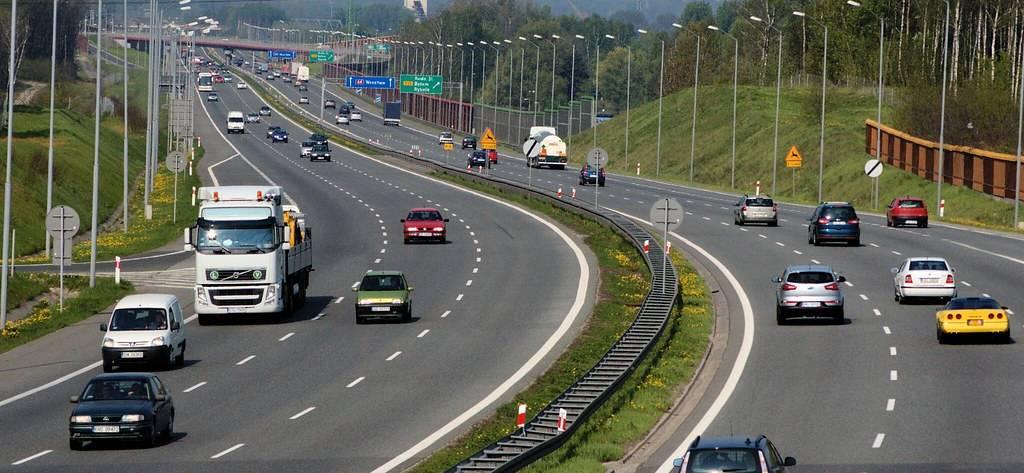 Autostrada samochody eleketryczne