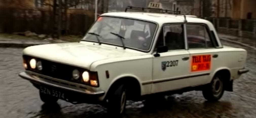 Fiat 125p tańczy na lodzie