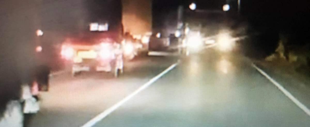 Kierowca prawie spowodował wypadek