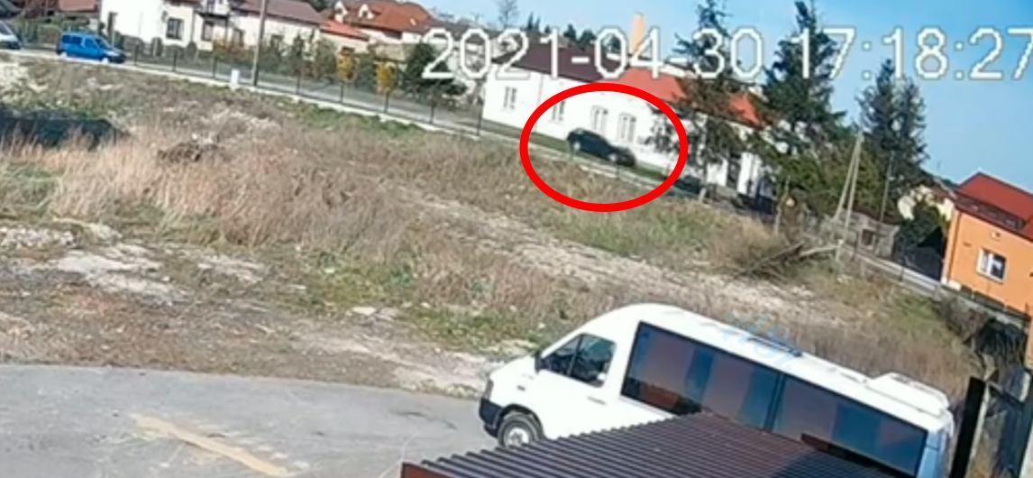 BMW wypadek