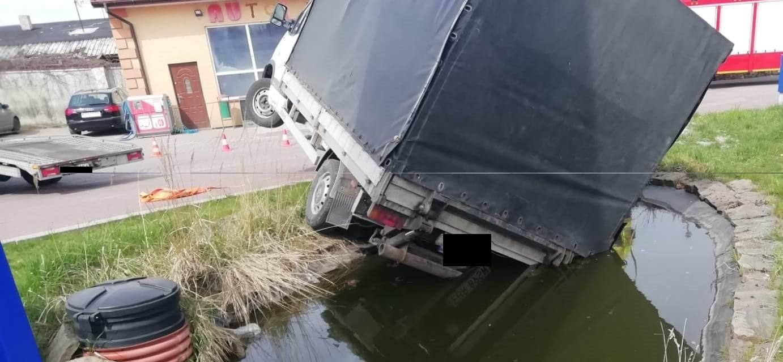 Kierowca zapomniał o ręcznym