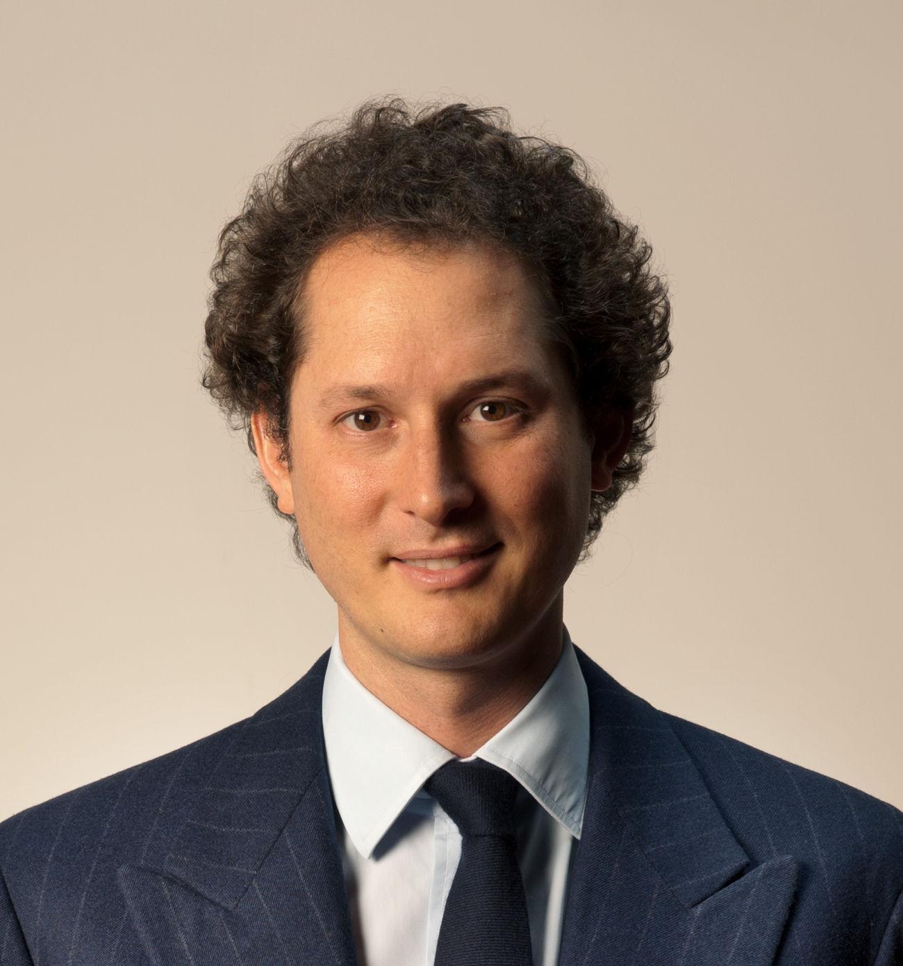 John Elkann - prezes Ferrari