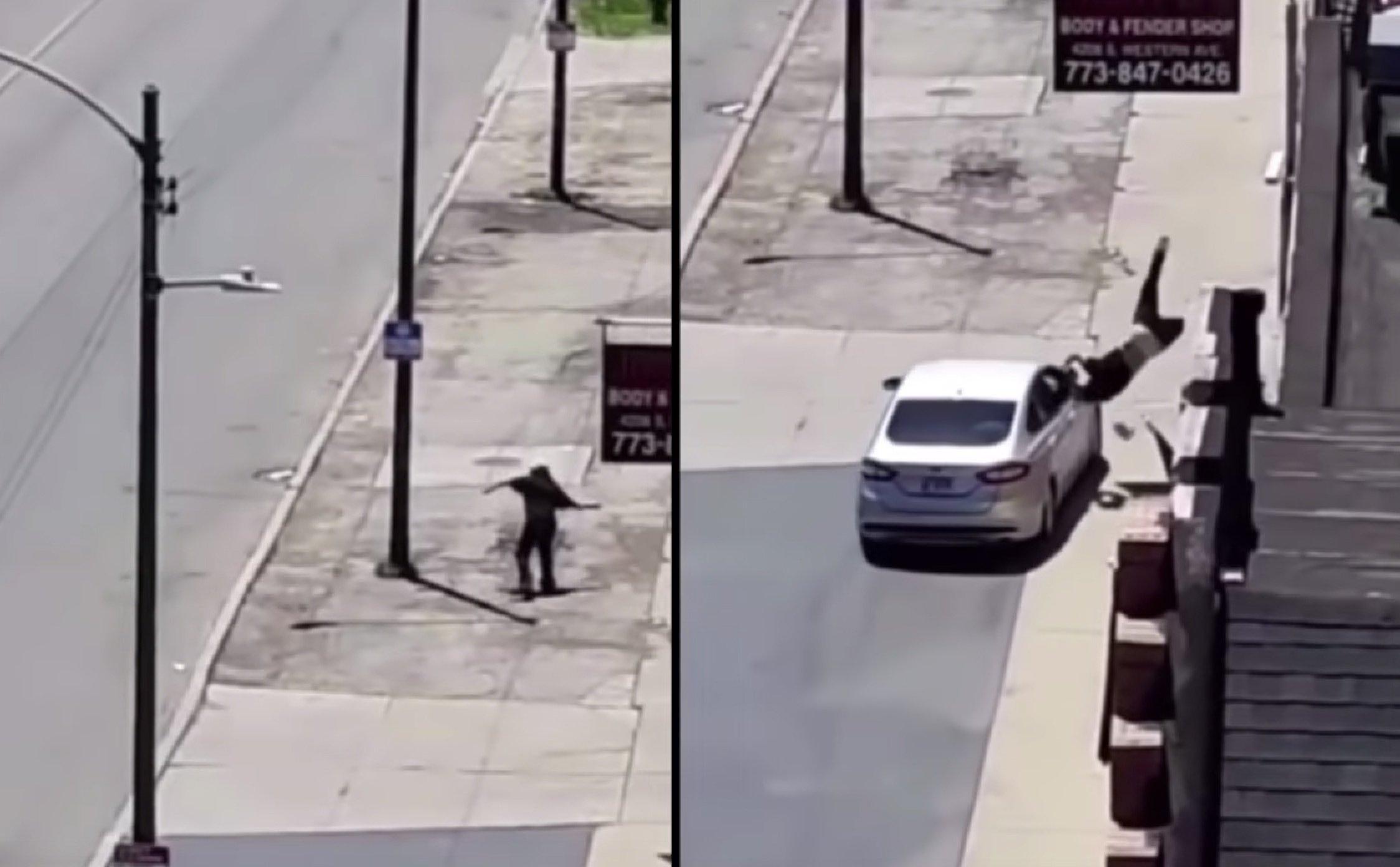 Kierowca nie wytrzymał ciśnienia