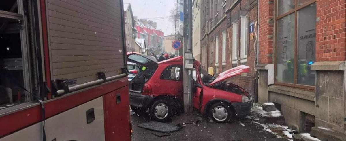 Wypadek Opel