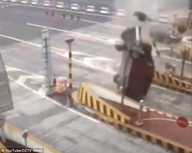 Wypadek bramki Chiny