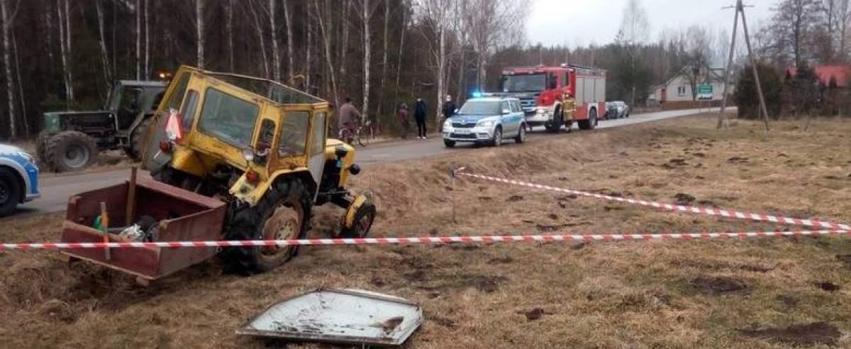 Wypadek Podlasie