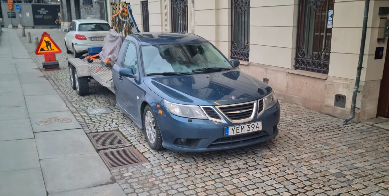 Saab 9-3 pickup