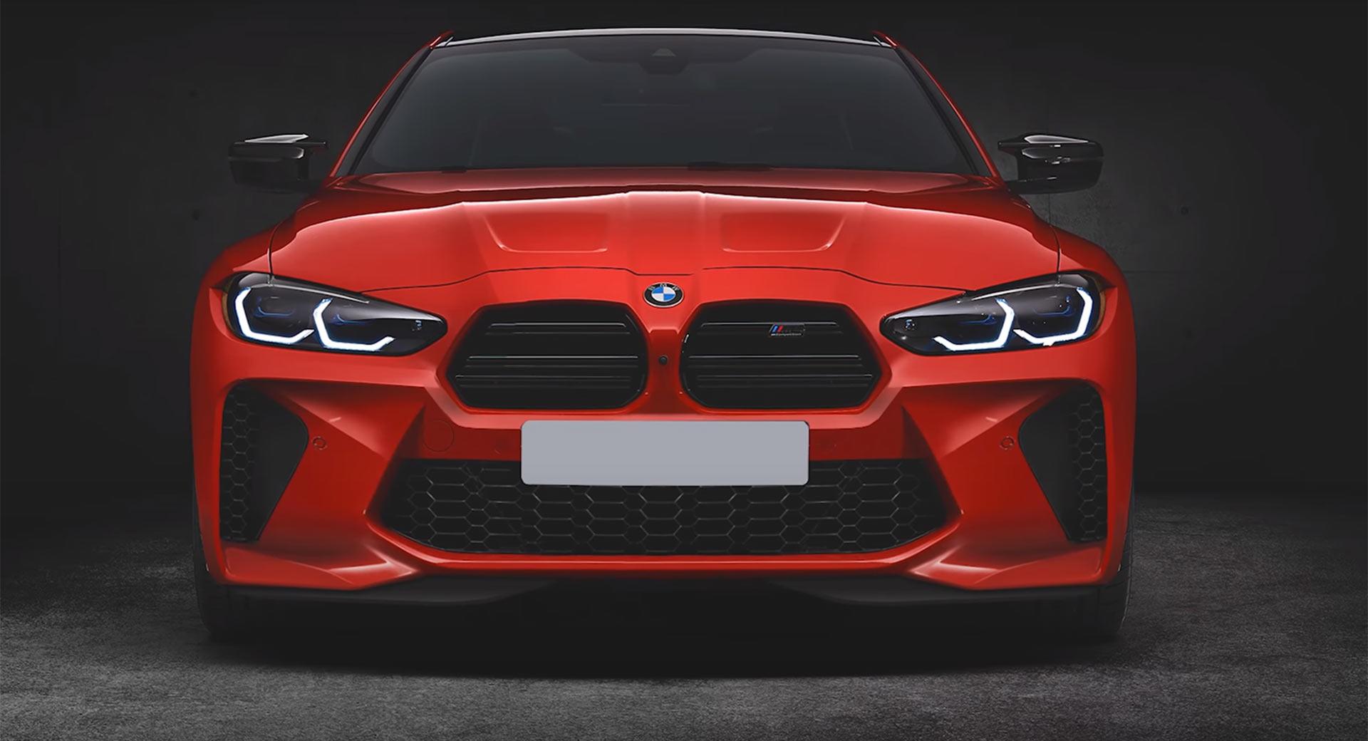 BMW M4 z nowym przodem