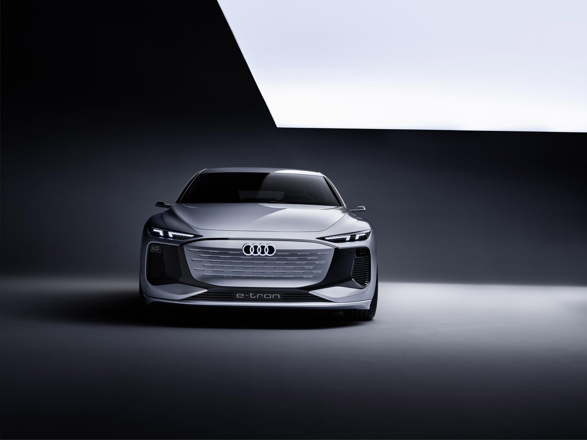 Audi A6 e-tron. Materiały Prasowe