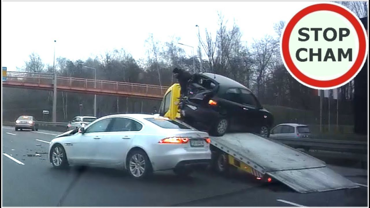 Wypadek Jaguar Katowice