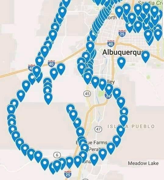 Kierowcy z Albuquerque strollowali lokalną stację TV