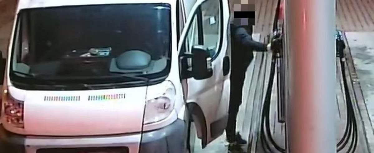 Zakaz prowadzenia pojazdów nie powstrzymał mężczyzny przed kradzieżą paliwa