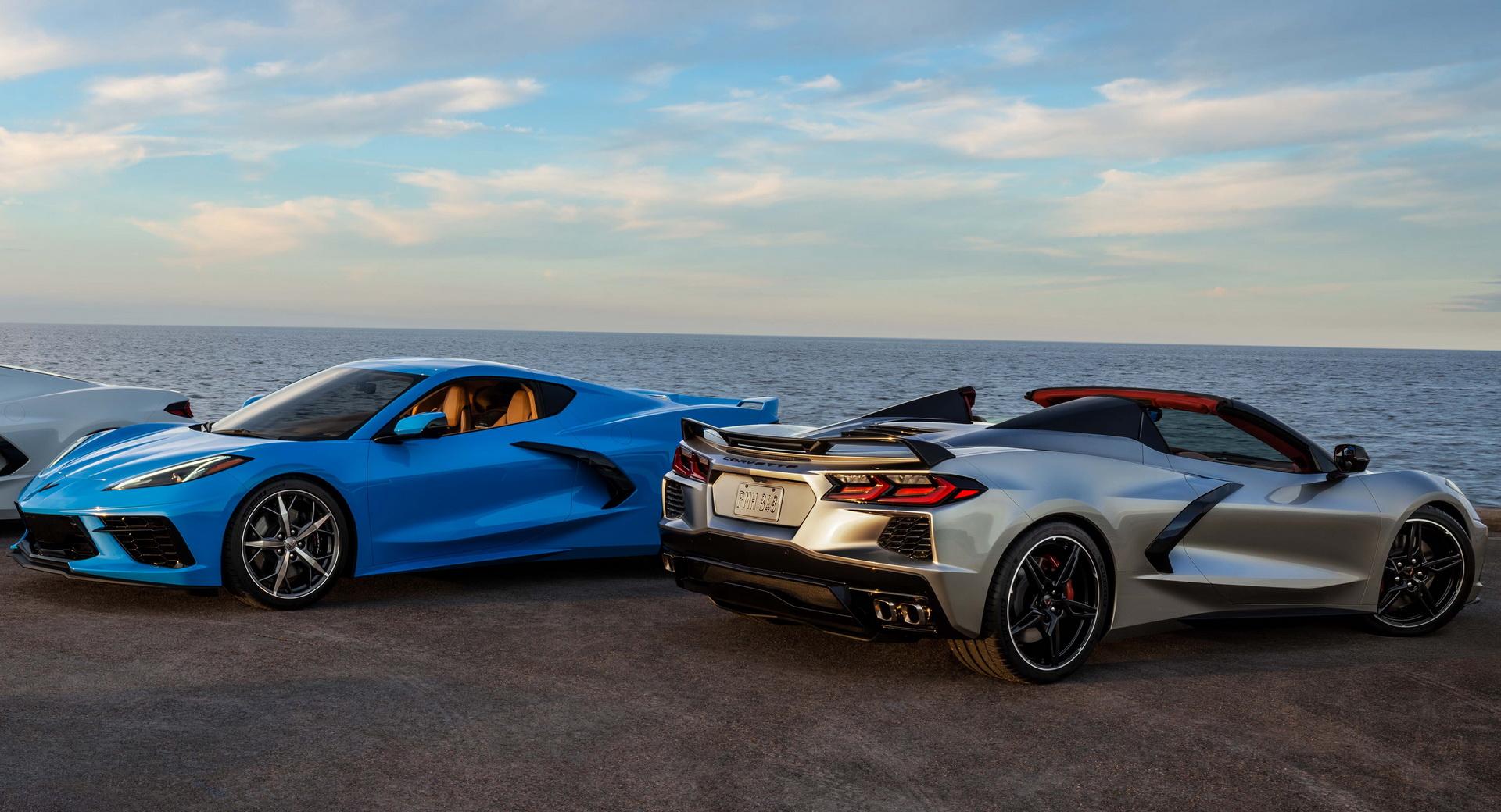 Corvette wygrane w loterii
