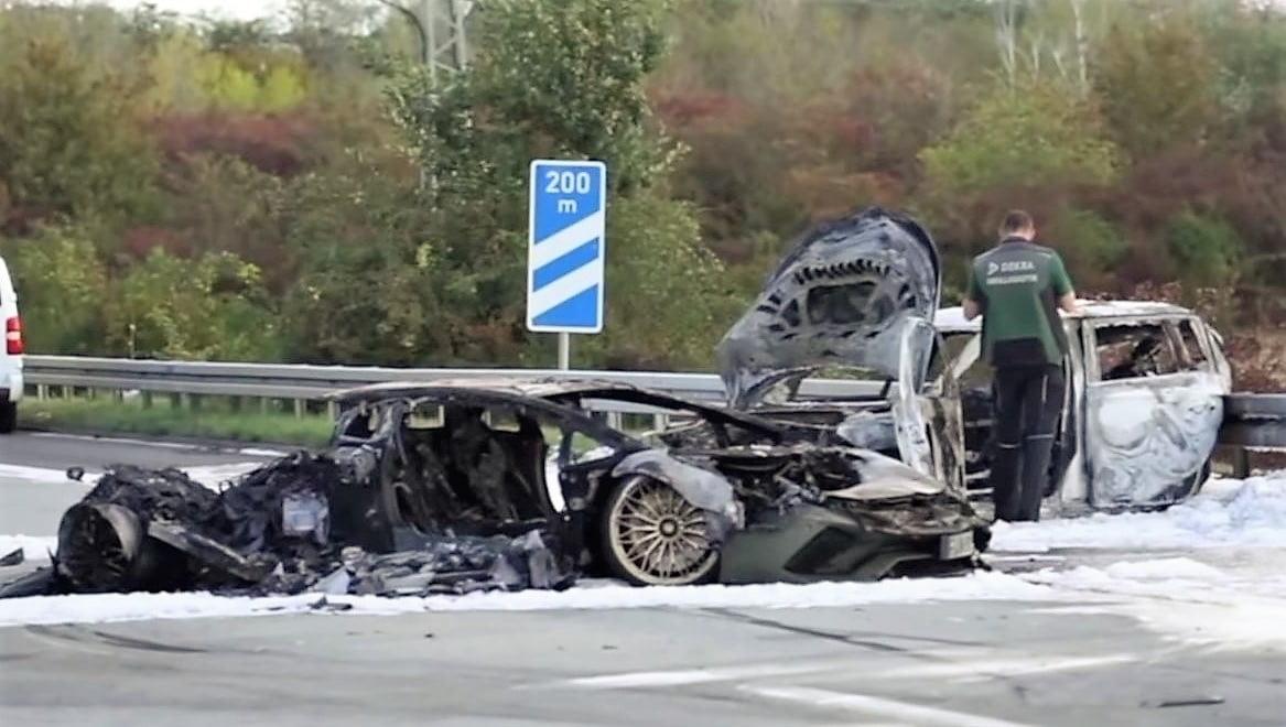 Lamborghini wypadek