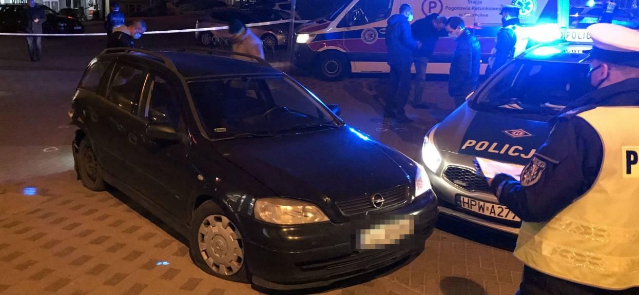 Policja pościg za pijanym kierowcą