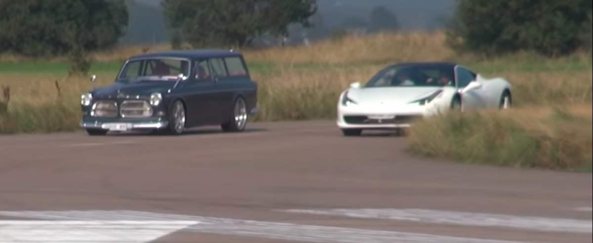 Volvo kontra Ferrari