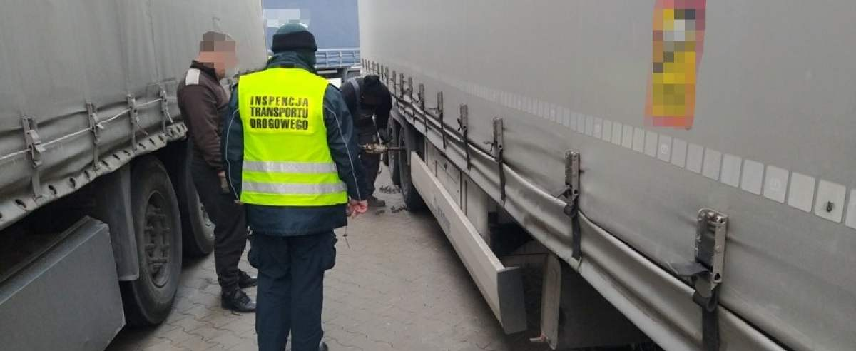 Ciężarówka wyniki kontroli