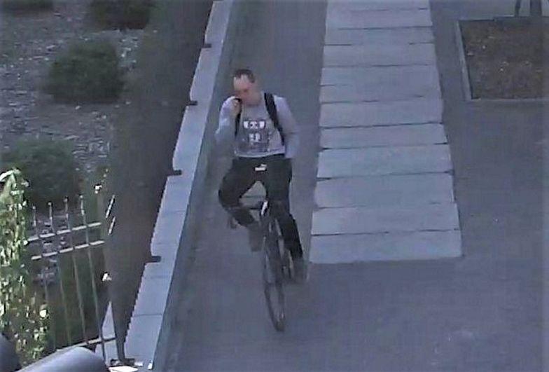 Rowerzysta potrącił kobietę i uciekł z miejsca wypadku. Odniosła obrażenia