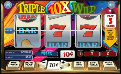 Three Reel Slot